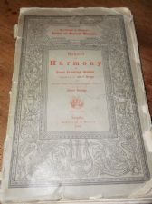 ANTIQUE PB 1884 MANUAL OF HARMONY ERNST FRIEDRICH RICHTER LEIPZIG BREITKOPF